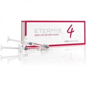 LOT DE 20 BOITES ETERMIS 4 (EX GLYTONE  Professional 4 ) (2x1ml) -volumateur et malléable- MERZ Aesthetics