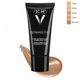 VICHY DERMABLEND FOND DE TEINT FLUIDE 35 SABLE tube 30 ml