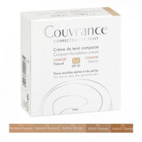 AVENE COUVRANCE Crème de Teint Confort NATUREL 02 Compacte 9.5 g