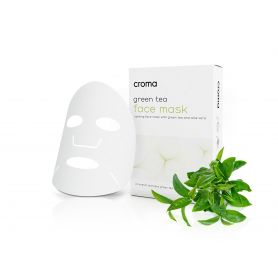 CROMA GREEN TEA FACE MASK/8