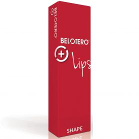 LOT DE 20 BOITES BELOTERO LIPS SHAPE LIDO (1x0,6ml) MERZ AESTHETICS